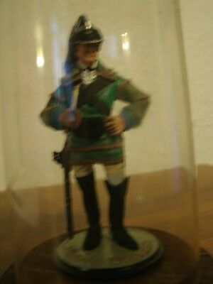 Perth Pewter ,superior,sculpture, Baylors Dragoons, Hand Painted • 40£