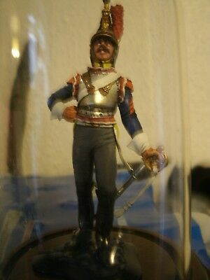 Perth Pewter Sculpture, Soldier (3), Hand Painted • 40£