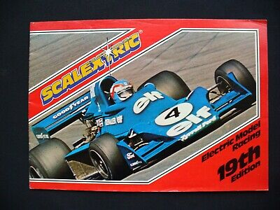 Vintage Scalextric Catalogue 19th Edition 1978 • 4.99£
