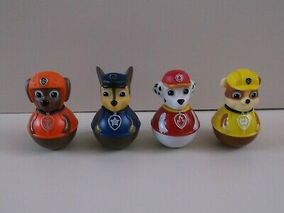 Paw Patrol Weebles X4 Approx. 3  High Hasbro 2015 • 25£