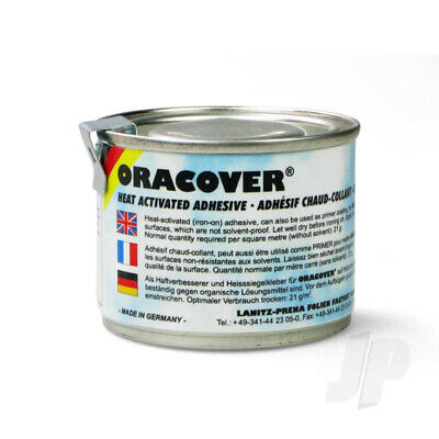 Oracover Adhesive Glue (Heat Activated) (0960) 100ml For RC Model Plane • 8£