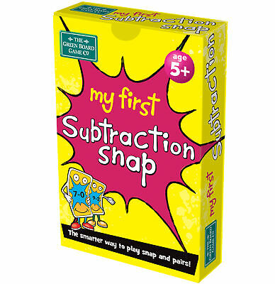 My First Subraction Snap And Pairs Card Game - Educational Game For Children ... • 5.99£