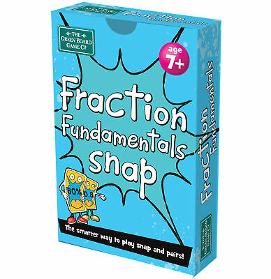 Fraction Fundamentals Snap And Pairs Card Game - Educational Game For Childre... • 5.99£