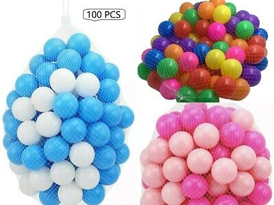 Pits  Ball Pen Pool Bath Play Room Balls Kids Soft Pit Balls • 17.49£