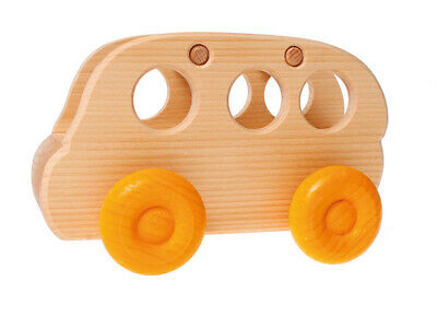 Grimm's Game And Wood Design 09480 Omnibus Nature With Colorful Wheels • 36.04£