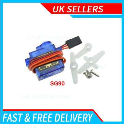 1X Micro SG90 9G Servo Motor RC Robot Arm Helicopter Airplane Remote Control • 5.13£