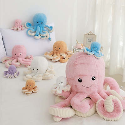 Octopus Plush Animal Toy Cute Ocean Pillow Pet Stuffed Doll Toy Kids Gift Xmas • 27.75£