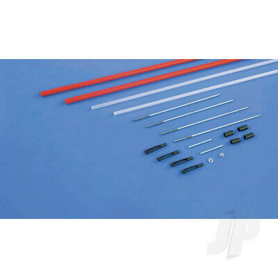 Dubro DB500 Lazer 36  Snake Clean Pushrod Kit (2pcs) Hardware For RC Model Aircr • 11.90£