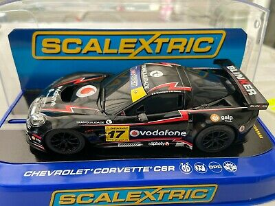 Scalextric  C3381 Chevrolet Corvette Miguel Ramos Sample New Boxed • 70£