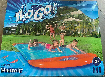 Bestway H20GO! Blobzter Water Slide With Drench Pool And Water Spray BW52242 • 59.95£