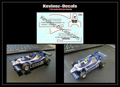 1/32 Scale Decals For Scalextric Ligier JS11 C137 - 2 Variations • 4£