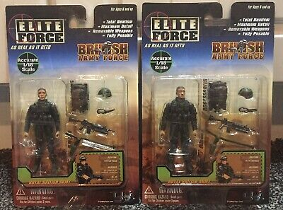 BlueBox Bbi Elite Force 1:18 British Army Force 21332 Rifleman X 2 Ask For More • 5.99£