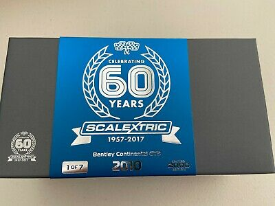 Scalextric C3831A Bentley Continental GT3- 60 Years Of Scalextric  LTD ED. - NEW • 44.99£