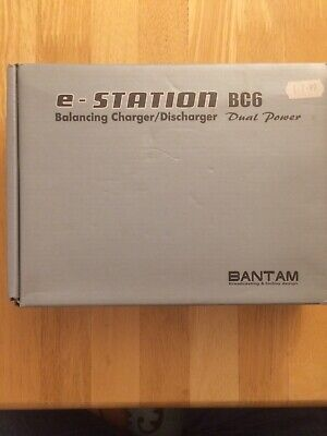 BANTAM  E-STATION BC6 Charger/dis-charger  Battery Charger • 38£