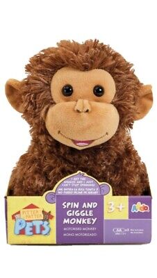 Pitter Patter Pets Spin And Giggle Monkey • 21.99£