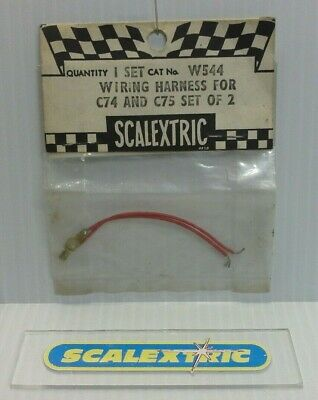 Scalextric Tri-ang Vintage 1960's WIRING HARNESS For C74 And C75 (set Of 2) W544 • 14.99£
