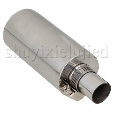 Stainless Steel Silencer For 23CC-35CC Gasoline Engine Accelerating Tube • 18.94£