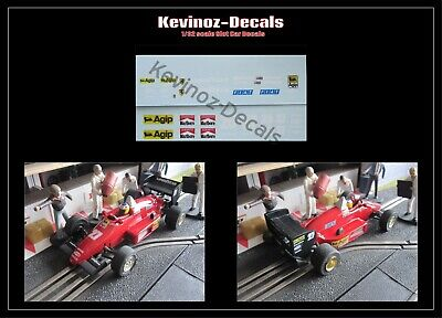 1/32 Scale Decals For Scalextric / NSR Slot Car - Ferrari 156/85 • 4£