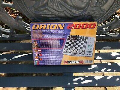 Classic Millennium Orion 2000 Computor Chess Works Complete With Checkers  • 35£