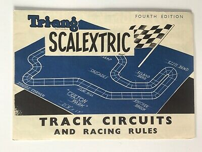 Scalextric Vintage Brochure. Fourth  Edition. Track Circuits. Excellent. • 4.99£