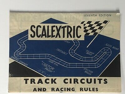 Scalextric Vintage Brochure. Seventh Edition. Track Circuits. Excellent. • 4.99£