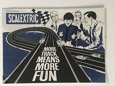 Scalextric Vintage Brochure. Eighth Edition. Track Circuits. Excellent. • 4.99£