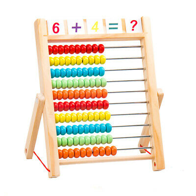 AKORD Kids Educational Toy Wooden Abacus • 5.99£