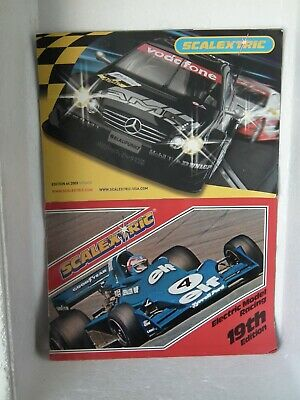 Scalextric 19th Edition & Edition 44  2003 Update Electric Model Racing • 7£
