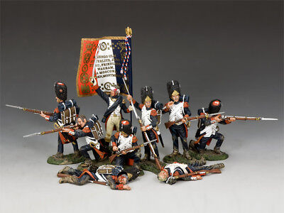 KING AND COUNTRY NAPOLEONIC The Old Guard Set # 2 NA-S02 • 438.95£