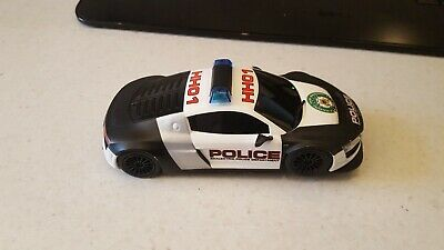 Scalextric Audi R8 Police Car - DPR - Roof Lights And Sirens Defective • 18.99£