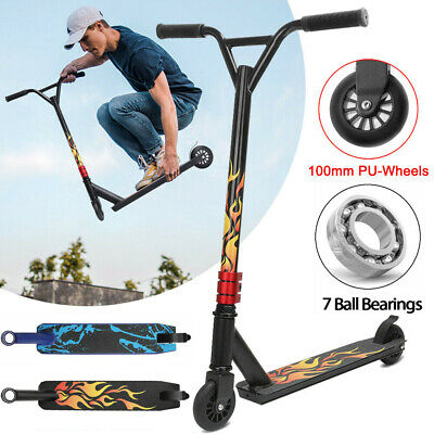 Stunt Scooter Push Kick Trick Scooters 2 Wheels Kids Adult City Outdoor Play UK • 30.39£