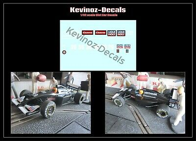 1/32 Scale Decals For Scalextric Sauber C12 • 4£