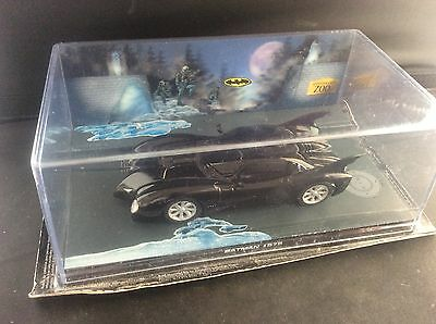 Eaglemoss Batman Movie Batmobile Automobilia Die-Cast Diorama Car Sealed Box 2 • 13.98£
