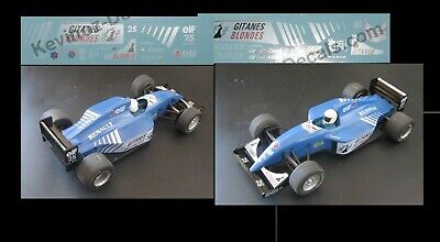 1/32 Scale Decals For Scalextric Ligier JS39 From 1993 • 4£
