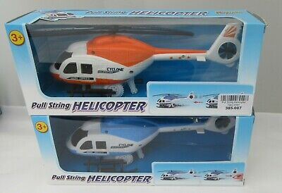 Pull String Toy Helicopter • 2.99£