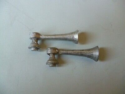 Model Boat Two Tone Horns Approx 33mm Long.Fittings For Model Boat. • 2.25£