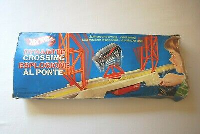 Hot Wheels Dynamite Crossing Mattel 1984 With Box • 24.99£