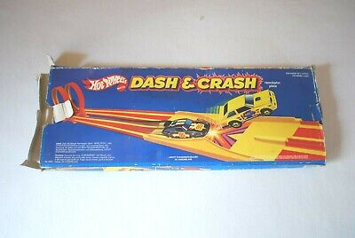 Hot Wheels Dash And Crash 1982 With Box • 19.99£