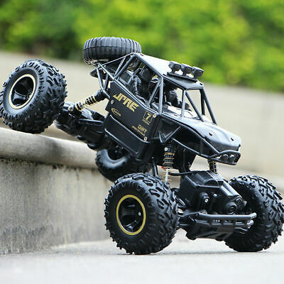 4WD RC Monster Truck Off-Road Vehicle 2.4G Remote Control Buggy Crawler Car Toys • 32.99£