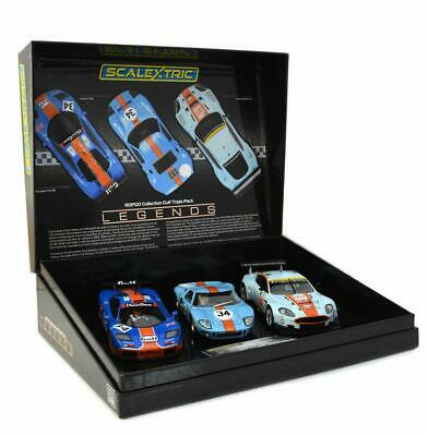 Scalextric Slot Car ROFGO Collection Gulf Triple Pack. C4109A • 114.95£