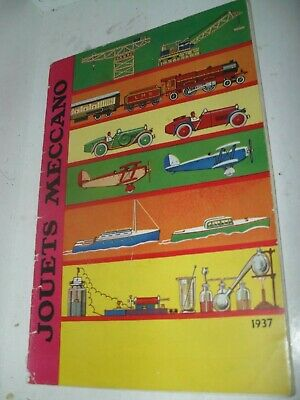 French Dinky/meccano/hornby Toy Catalogue 1937 Edition V Good For Age • 11.50£