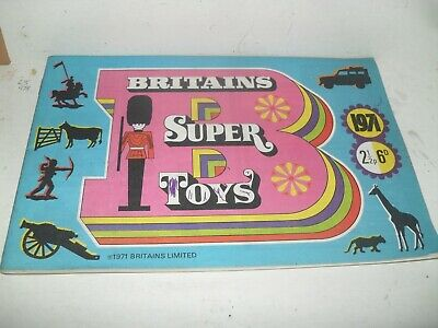 Britains Toy Catalogue 1971 Uk Edition Excellent Condition For Age • 4£