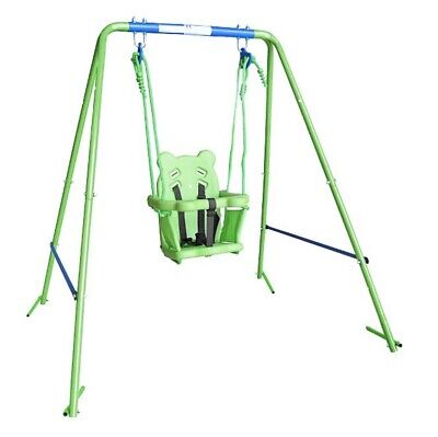 Toddler Swing Set Summer Garden Kid Outdoor Fun • 54.99£