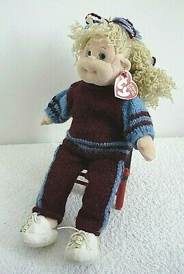 TY Beanie Boppers Precious Penny West Ham Outfit Soft Plush Doll Toy & Tag 33cm • 12.99£