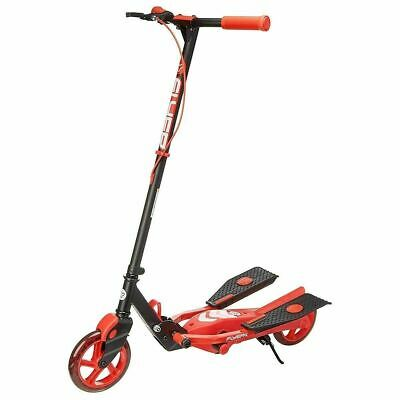 Yvolution Y Flyer Kids Foldable Pedalling Stepper Scooter Ages 7+ Red • 49.99£