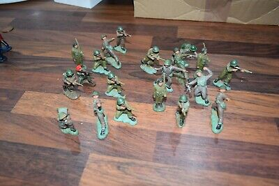 Vintage Plastic Toy Soldiers Herald 54 Mm 19 1 Lone Star • 29.99£