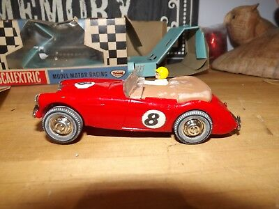 Vintage Scalextric C74 Austin Healey, Red No 8 Mint Car Boxed & Instructions  • 99.99£