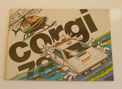 Rare Corgi Toys Catalogue, Dated 1978, - Superb Mint Condition. • 10.99£