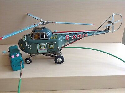 Alps Battery Operated Tin Helicopter • 18.60£