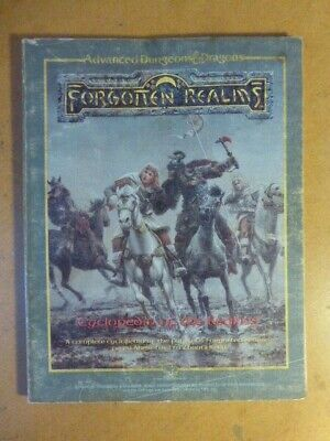 Forgotten Realms Cyclopedia Of The Realms Advanced Dungeons And Dragons AD&D • 15£